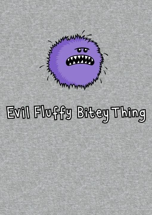 evil fluffy vest