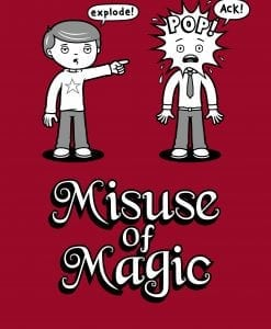 misuse of magic genki gear