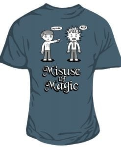 misuse of magic original geeky design