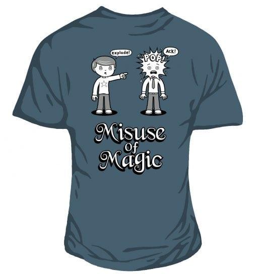 misuse of magic original geeky design