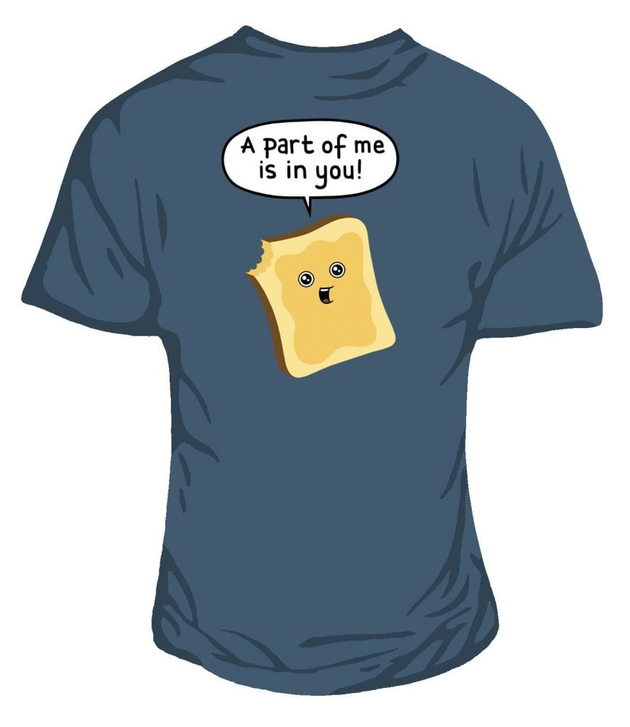 Walkie Grille-pain-Does Anybody Want any Toast Standard Unisexe T-Shirt