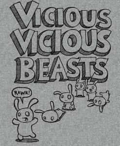 vicious beasts women's vest top