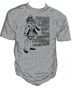 yandere, japan range unisex t-shirt by Genki Gear