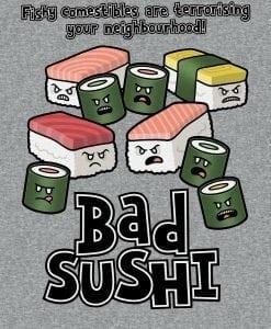 bad sushi mens