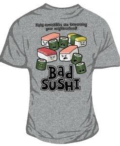 bad sushi