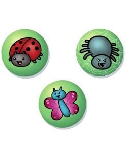 creepy crawlie badge set