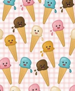 ice cream cute notebook