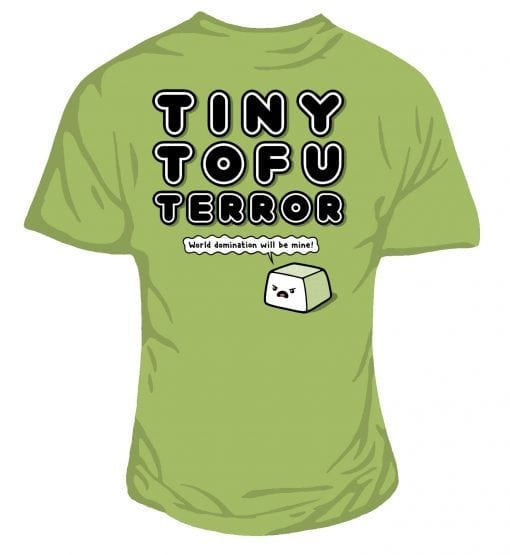 Tofu Terror Ladies T-shirt