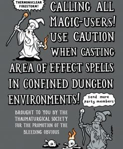D&D area of effect spells
