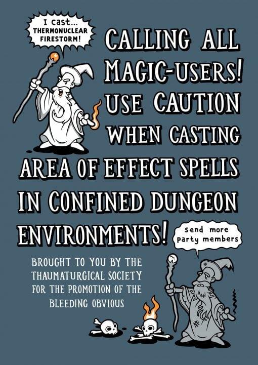 D&D area of effect spells