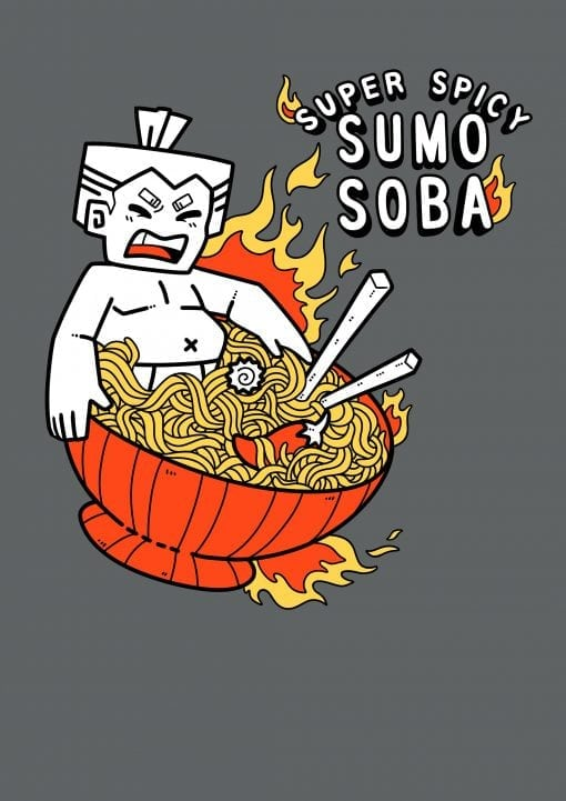 Spicy Soba Noodles Original design