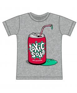Toxic soda kids tee