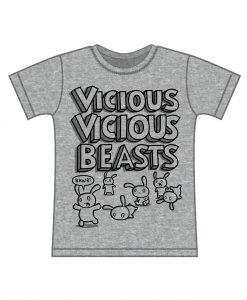 vicious beasts kids t-shirt