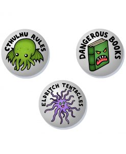 Cthulhu badge set