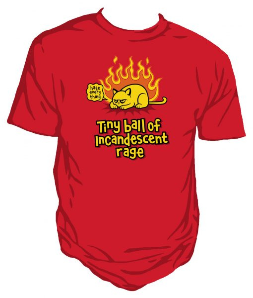 Tiny Ball of Rage- Genki Gear