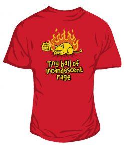 tiny ball of rage Women's t-shirt