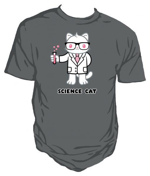 Science Cat original Genki gear cute design