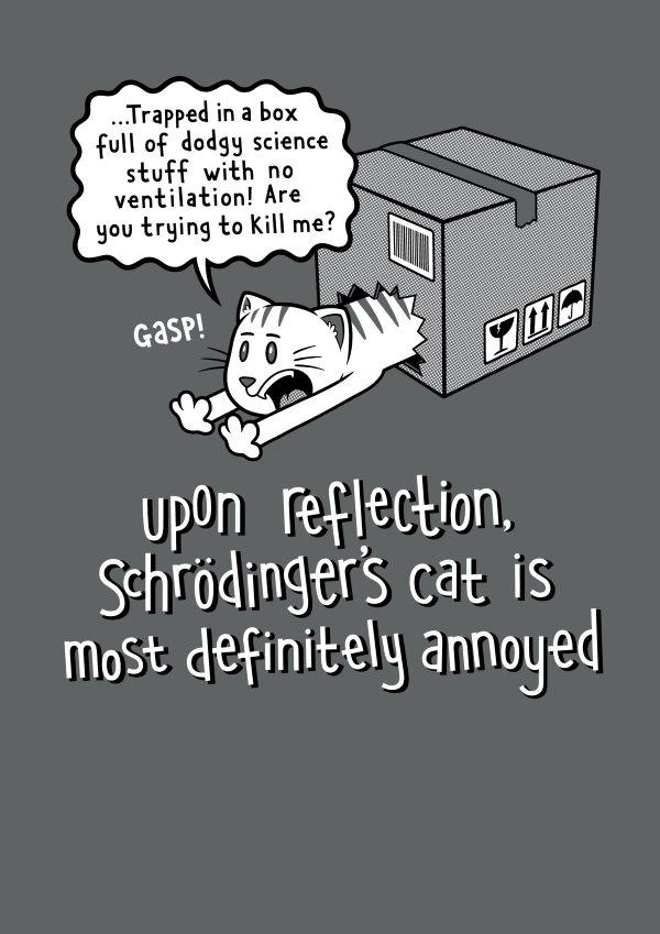 Annoyed (Schrödinger's cat)