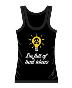 bad ideas womens vest top