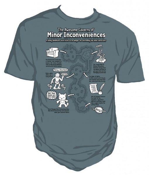Caverns D&D T-shirt