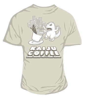 Kaiju coffee women's t-shirt
