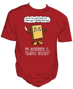 Chaotic biscuit unisex t-shirt