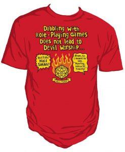 Devil worship Unisex T-shirt