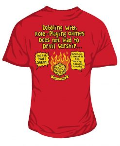 Roleplaying women's t-shirt