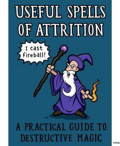 spells of attrition notebook