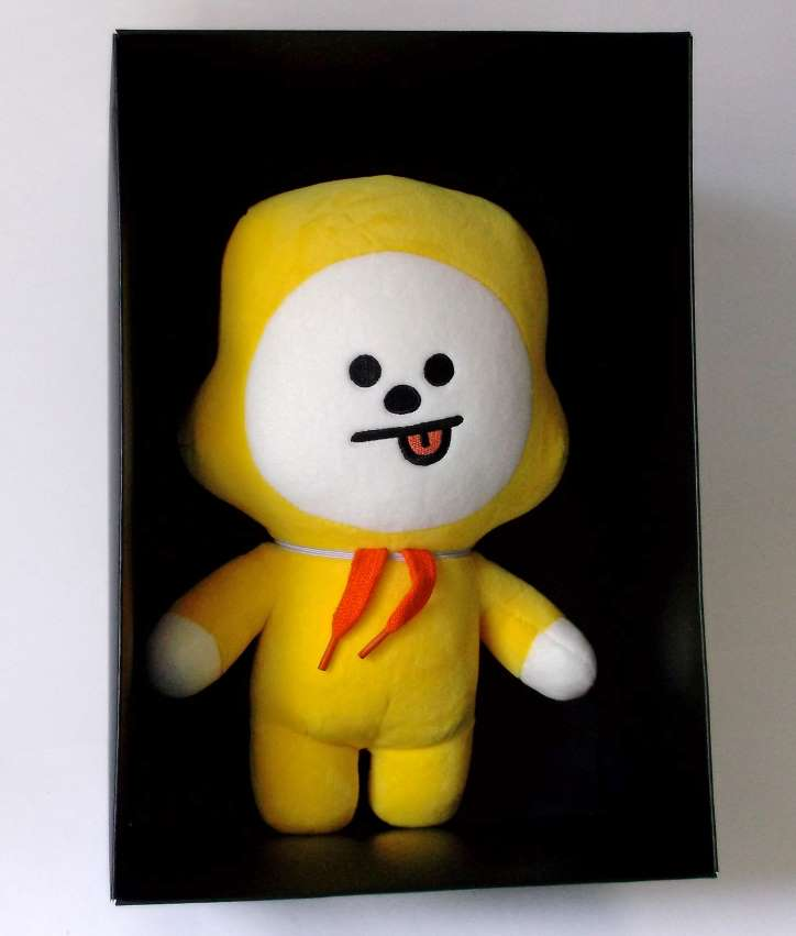 Chimmy Official Bt21 Plush 11 Inch Genki Gear So here we go watching baby chimmy and jimin baby in one frame. chimmy official bt21 plush 11 inch