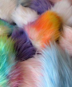 big fluffy cosplay ears coloured