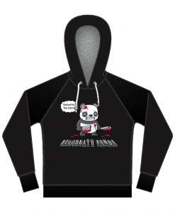 Bloodbath panda hoodie