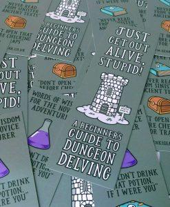Dungeon Delvers Bookmark