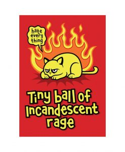 Rage Cat vinyl sticker