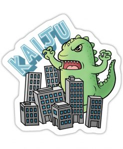 kaiju vinyl sticker