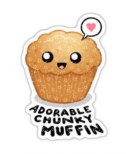 Adorable Chunky Muffin stickers.