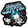 Space Kitten Vinyl sticker