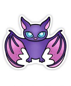 Bat Acrylic pin badge